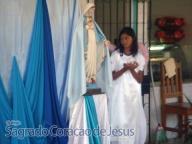 Homenagens de encerramento do mês mariano