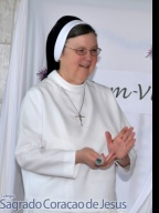 Visita da Madre Mary Clare Millea.