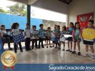 """Abertura do Projeto Pedagógico na Educação Infantil, cujo tema é: """"Aprendendo e transformando: Eu sou responsável pelo m"""