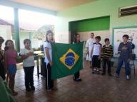 Momento Cívico Religioso - Descobrimento do Brasil
