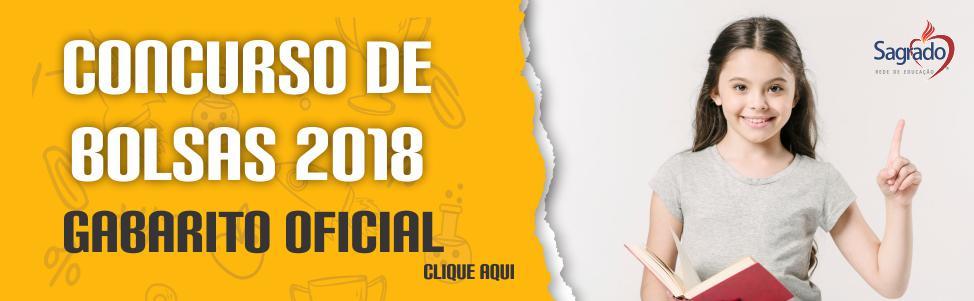 Concurso de Bolsas - 2018 - Gabarito Oficial