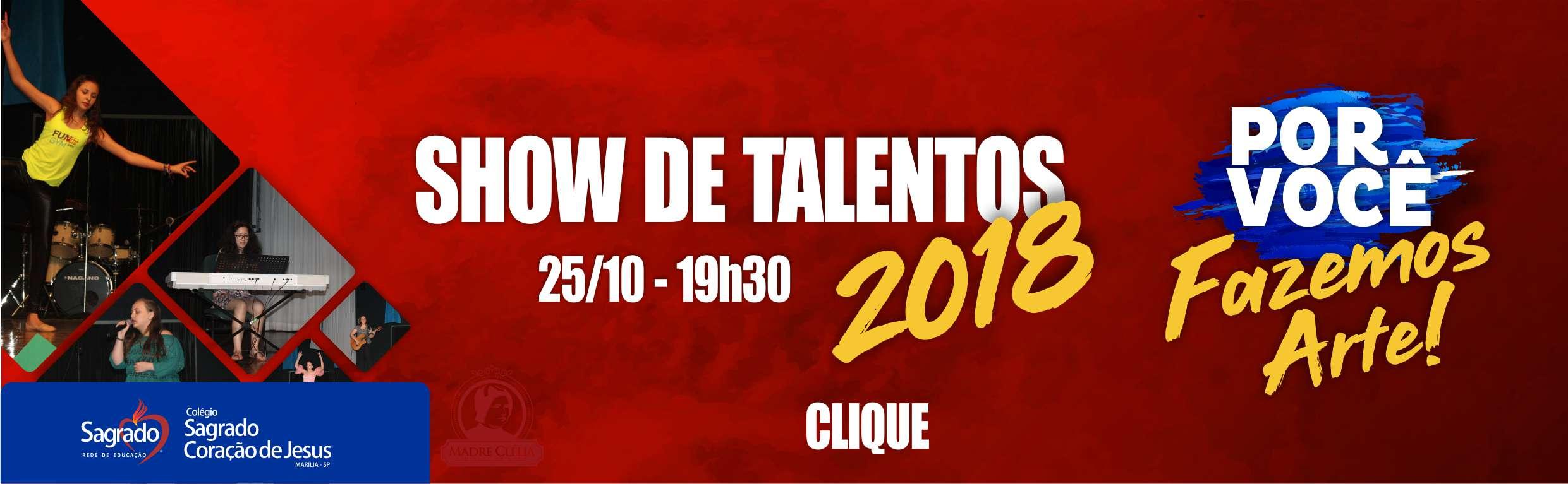 Show de talentos 2018