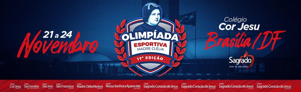 Olimpíadas Madre Clélia - 2017