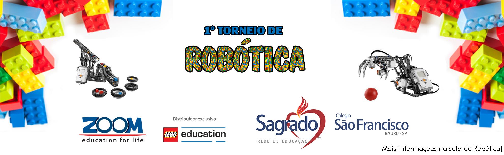 1 torneio de Robótica CSFA 2015