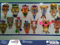 Arte primitiva (Máscaras Africanas) - 5º anos