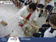 Lava-pés - Educação Infantil