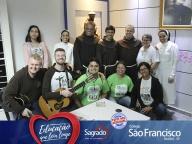 Visita dos Freis e Missionários Franciscanos