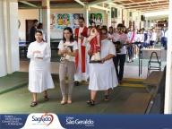 Missa na 1ª sexta-feira do mês de fevereiro com turmas dos 6º anos