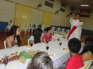 1ª Páscoa Jovem no Colégio São Geraldo