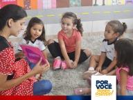 Biblioteca inicia atividades com os pequenos leitores