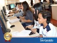 Aula de Ensino Religioso - Labim de Informática