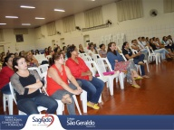 Primeira reunião do ano com as famílias do colégio São Geraldo