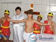 Celebrarmos da Santa Páscoa com os alunos