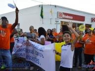Manifestação contra a violência sexual de Crianças e Adolescentes