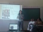 PALESTRA PARA OS FUNCIONÁRIOS COM Psicóloga Dra. Ivaneide