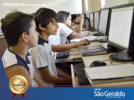 Aula de Ensino Religioso - Labim de Informática - 6º ano