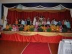 Recital com os alunos do Jardim II