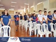 Ensino Médio participa da Missa na 1ª sexta-feira de setembro