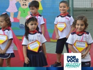 Educação Infantil homenageia seus pais