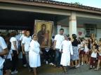 Cruz peregrina e Ícone de Nossa Senhora
