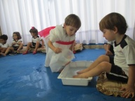 Lava pés - Maternal e Infantil I