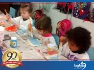 Artes com as crianças: interação e diversão