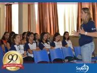 Semana Pedagógica - Treinamento com as estagiárias