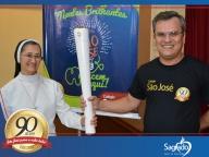 Colégio São José recebe a Tocha Olímpica Rio 2016
