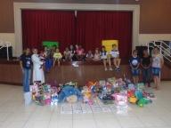 Entrega das doações – Campanha do Brinquedo