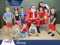 Visita do Papai Noel no Colégio São José