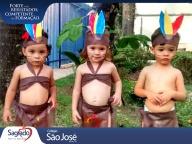Infantil I - Comemorando o Dia do índio! (2)