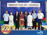 Inauguração do Laboratório de Robótica