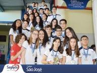 Nossos Campeões - Atletas da 17ª Olimpíada Madre Clélia